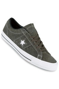 Converse CONS One Star Pro Skate Suede Schuh (charcoal black white)