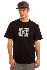KR3W Bracket Static T-Shirt (black)