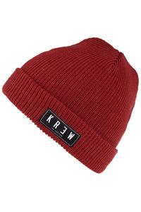 KR3W Cuff Beanie (red)