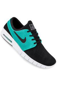 Nike SB Stefan Janoski Max Leather Schuh (black black retro white)