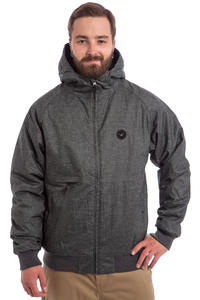 Cleptomanicx Polarzipper Hemp 2 Jacke (heather dark grey)