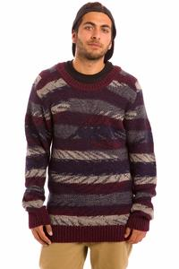 Cleptomanicx Feather Sweatshirt (tawny port)