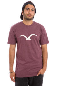 Cleptomanicx Möwe T-Shirt (heather tawny port)