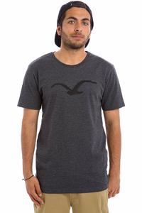Cleptomanicx Pastell Möwe T-Shirt (heather black)