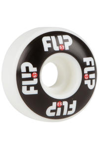 Flip Odyssey Logo 52mm Wheel (white black) 4 Pack