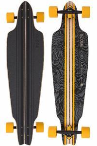"Globe Prowler 38,5"" (97,8cm) Komplett-Longboard (black yellow tailspin)"
