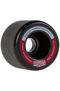 Hawgs Fatty 70mm 78A Rollen (black) 4er Pack