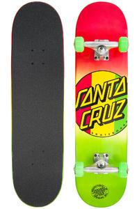 "Santa Cruz Rasta Dot Regular 7.75"" Komplettboard"