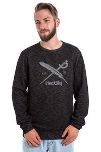 Iriedaily Slub Logo Sweatshirt (black melange)