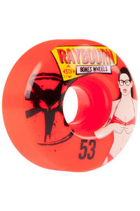 Bones STF Raybourn Phoebe 53mm Rollen (red) 4er Pack