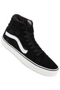 Vans Sk8-Hi Suede Schuh (black blanc)