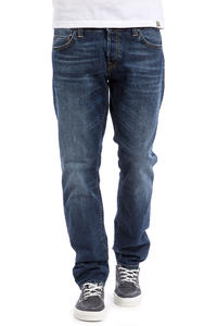 Carhartt WIP Buccaneer Pant Hanford Jeans (blue strand washed)