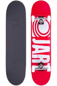 "Jart Skateboards Logo Basic SP15 8"" Komplettboard (red)"