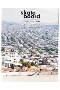 Skateboard MSM Monster Skateboard Magazin # 343 2015