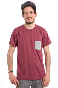 SK8DLX Delano T-Shirt (burgundy heather)