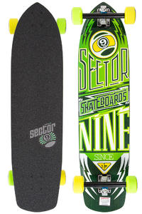 "Sector 9 Carbon Flight 36"" (91,44cm) Komplett-Longboard (yellow)"