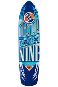 "Sector 9 Carbon Flight 36"" (91,44cm) Longboard Deck 2015 (blue)"