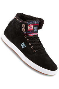DC Crisis High WNT Suede Shoe (black multi)