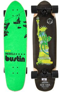 "Bustin Modela 33"" (83,8cm) Complete-Longboard (gray stain)"