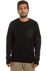 Nike SB Everett Overlay Pocket Sweatshirt (black)