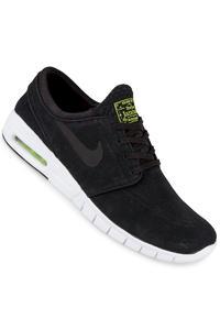 Nike SB Stefan Janoski Max Suede Schuh (black black cyber white)
