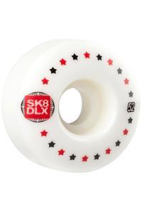 SK8DLX Stars 52mm Rollen (white) 4er Pack