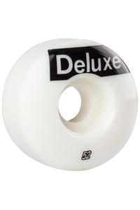 SK8DLX AFS Deluxe 52mm Rollen (white) 4er Pack