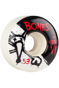 Bones STF-V1 Series II 53mm Rollen (white) 4er Pack