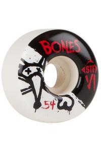 Bones STF-V1 Series II 54mm Rollen (white) 4er Pack