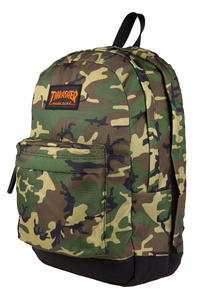 Thrasher Magazine Logo Backpack 25L (camo)