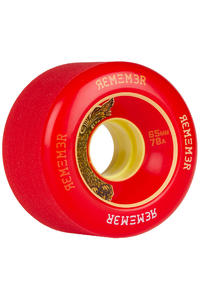 Remember Lil Hoot 65mm 78A Rollen (red) 4er Pack