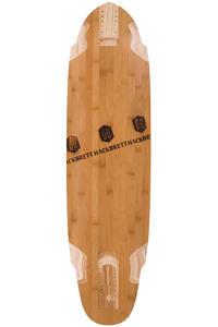 """Hackbrett Das Schnelle 3.0 Bambus 38"""" (96,5cm) Longboard Deck"""
