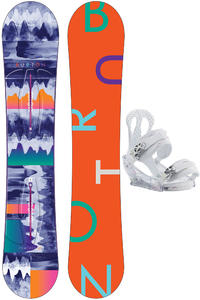 Burton Feather 149cm / Citizen M Snowboardset 2015/16 women