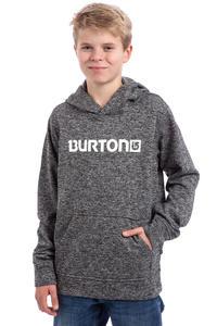 Burton Oak Bonded Hoodie kids (true black dark ash heather)