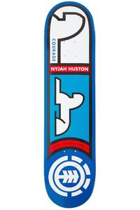 "Element Nyjah Heiroglyphics 7.75"" Deck (blue)"