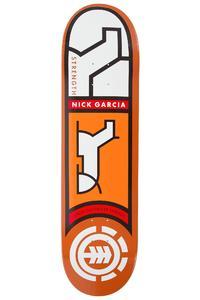"Element Garcia Heiroglyphics 8.25"" Deck (orange)"