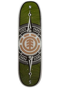 "Element Topo Compass 8.75"" Deck (green)"