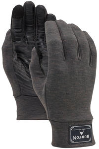 Burton Wool Liner Gloves (black heather)
