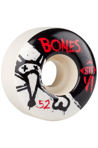 Bones STF-V1 Series II 52mm Rollen (white) 4er Pack
