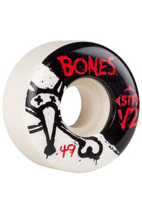 Bones STF-V2 Series II 49mm Rollen (white) 4er Pack