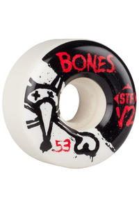 Bones STF-V2 Series II 53mm Wheel (white) 4 Pack