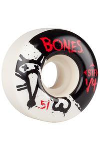 Bones STF-V4 Series II 51mm Rollen (white) 4er Pack