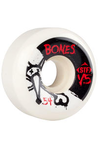 Bones STF-V5 Series II 54mm Rollen (white) 4er Pack