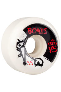 Bones STF-V5 Series II 55mm Rollen (white) 4er Pack