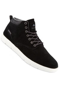 Emerica Wino Cruiser HI LT Suede Shoe (black white)