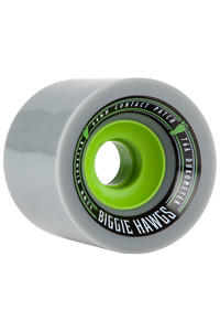 Hawgs Biggie 73mm 76A Rollen (grey) 4er Pack