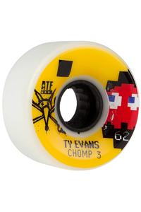 Bones ATFormula Evans Chomped III 62mm Wheel (white) 4 Pack