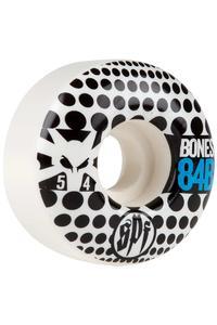 Bones SPF Dotty 54mm Rollen (white) 4er Pack