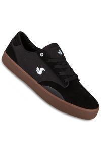 DVS Daewon 14 Suede Shoe (black gum)