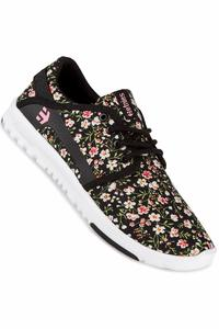 Etnies Scout Shoe women (black white pink)